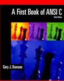 A First Book of ANSI C 9780534379643