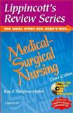 Lippincott's Review Series : Medical-Surgical Nursing, Hargrove-Huttel, Ray A., 078171964X