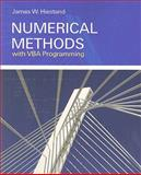 Numerical Methods with VBA Programming, Hiestand, James, 0763749648