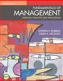 Fundamentals of Management, Robbins, Stephen P. and DeCenzo, David, 0131019643