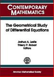 The Geometrical Study of Differential Equations, , 0821829645