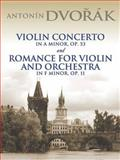 Violin Concerto in a Minor, Op. 53, Antonin Dvorak, 0486449645