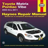 Toyota Matrix and Pontiac Vibe, 2003 Thru 2011, , 1563929643