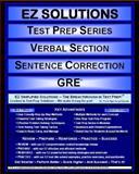 EZ Solutions: Test Prep Series: Verbal Section: Sentence Correction, Punit Raja SuryaChandra and EZ Solutions, 1605629650