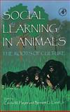 Social Learning in Animals 9780122739651
