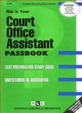 Court Office Assistant, Jack Rudman, 0837309654