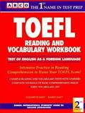 Reading and Vocabulary Workbook for the TOEFL Exam 9780139269653