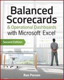 Balanced Scorecards and Operational Dashboards with Microsoft Excel, Ron Person, 1118519655