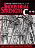 Industrial Strength C, Henricson, Mats, 0131209655