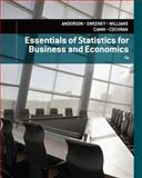 Essentials of Statistics for Business and Economics, Anderson, David R. and Sweeney, Dennis J., 1133629652