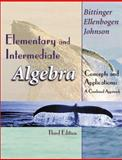 Elementary and Intermediate Algebra : Concepts and Applications: A Combined Approach, Bittinger, Marvin L. and Ellenbogen, David J., 0201719665