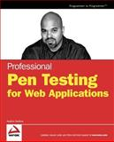 Professional Pen Testing for Web Applications, Andres Andreu, 0471789666
