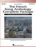 The French Song Anthology Complete Package - Low Voice, , 1480329665