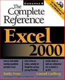 Excel 2000 : The Complete Reference, Ivens, Kathy and Carlberg, Conrad, 0072119675