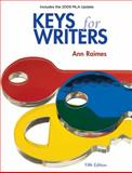 Keys for Writers 2009, Raimes, Ann, 049579967X