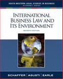 International Business Law and Its Environment, Schaffer, Richard and Agusti, Filiberto, 0324649673