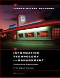 Information Technology for Management : Transforming Organizations in the Digital Economy, Turban, Efraim and McLean, Ephraim R., 0471229679