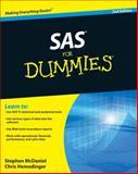 SAS for Dummies, Chris Hemedinger and Stephen McDaniel, 0470539682