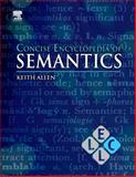 Concise Encyclopedia of Semantics 9780080959689