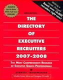 Directory of Executive Recruiters 2007-2008, Kennedy Information Inc, 1932079696