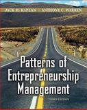 Patterns of Entrepreneurship Management, Kaplan, Jack M. and Warren, Anthony C., 0470169699