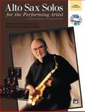 Alto Sax Solos for the Performing Artist, Mike Garson and Nova Music Incorporate Staff, 0739019708