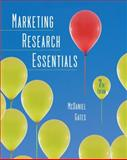 Marketing Research Essentials, McDaniel, Carl and Gates, Roger, 0470169702