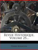 Revue Historique, Pierre Renouvin, 1276949707