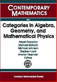 Categories in Algebra, Geometry and Mathematical Physics, Davydov, Alexei, 0821839705