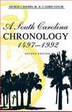 A South Carolina Chronology, 1497-1992, Rogers, George C., Jr. and Taylor, C. James, 0872499715