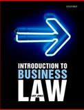 Introduction to Business Law, Jones, Lucy, 0199289719