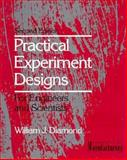 Practical Experiment Designs for Engineers and Scientists, Diamond, William J., 047128971X