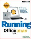 Running Microsoft Office 2001 for Mac, Schwartz, Steven and Correll, Robert, 0735609713