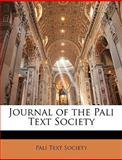 Journal of the Pali Text Society, Text Society Pali Text Society, 1147439710