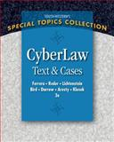 CyberLaw : Text and Cases, Darrow, Jonathan J. and Bird, Robert, 0324399723
