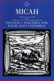 Micah, Andersen, Francis I. and Freedman, David Noel, 0300139721