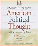 American Political Thought, Kenneth M Dolbeare, Michael S Cummings, 0872899721