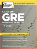 Cracking the GRE Mathematics Subject Test, Princeton Review Staff, 0375429727
