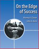 On the Edge of Success, Clason, Marmy A. and Beck, John A., 0534569730