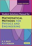 Mathematical Methods for Physics and Engineering, Riley, K. F. and Hobson, M. P., 0521679737