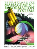 Essentials of Management Information Systems, Laudon, Jane Price and Laudon, Kenneth C., 0130819735