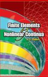 Finite Elements of Nonlinear Continua, Oden, J. T., 0486449734