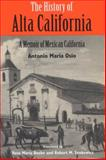 The History of Alta California 9780299149741