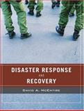 Wiley Pathways Disaster Response and Recovery, McEntire, David A., 0471789747