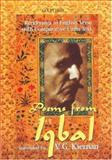 Poems from Iqbal : Renderings in English Verse with Comparative Urdu Text, Kiernan, V. G., 0195799747