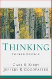 Thinking, Kirby, Gary R. and Goodpaster, Jeffery R., 0132209748