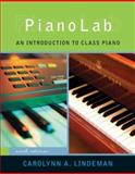 Pianolab : An Introduction to Class Piano, Lindeman, Carolynn A., 049518974X