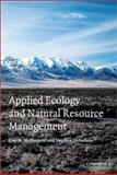 Applied Ecology and Natural Resource Management, McPherson, Guy R. and DeStefano, Stephen, 0521009758