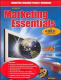 Marketing Essentials Marketing Research Project Workbook 9780078259753
