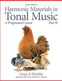 Harmonic Materials in Tonal Music 10th Edition